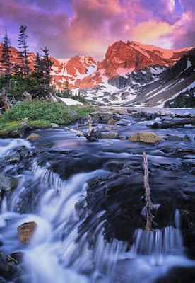 Imágenes de montañas, ríos, cascadas, paisajes y flores