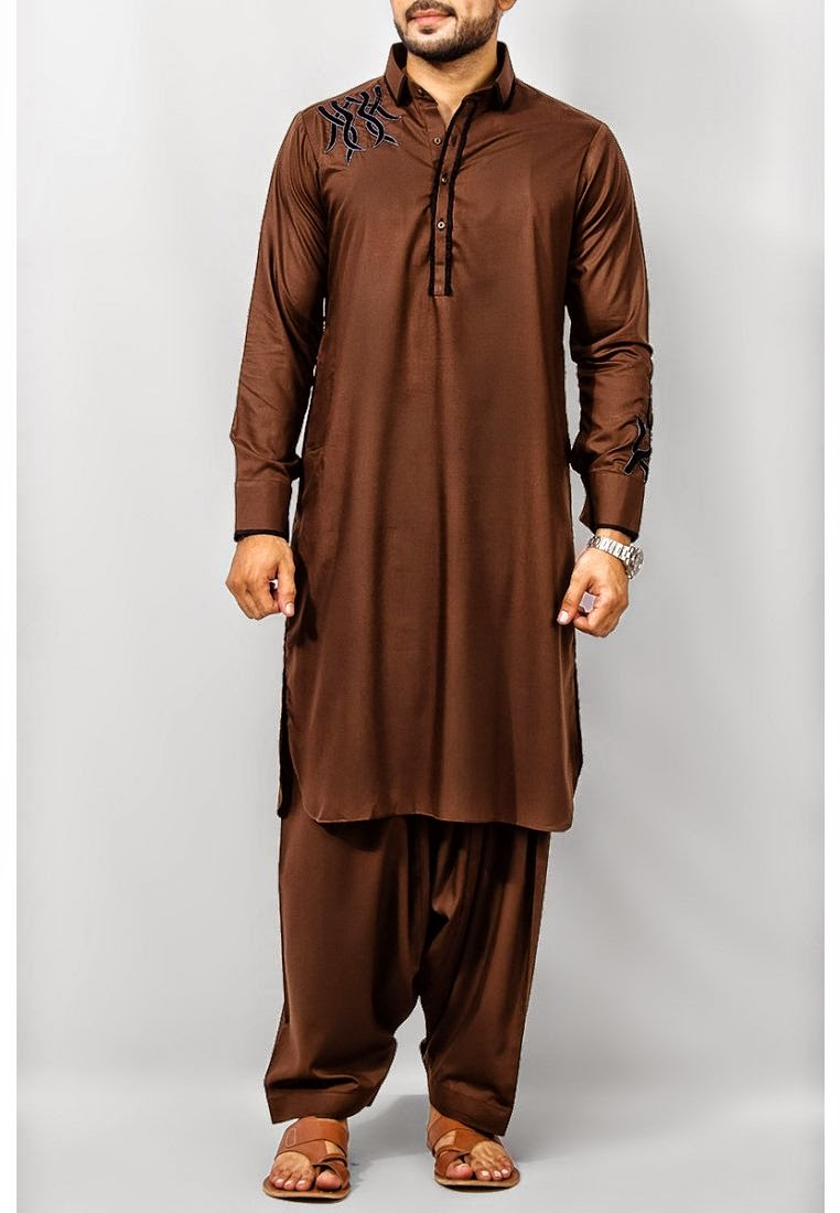 Shalwar Kameez, shalwar Kameez Dresses, Pakistani Dresses, Fashion Dresses, New Dresses, Latest Dresses, Neck Designs, Men neck designs shalwar kameez, Men Neck Deisgns 2014, Fashion neck designs 2012.