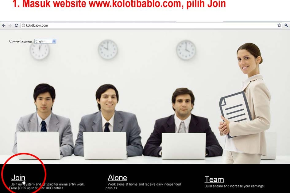 Lowongan Kerja Online Membuat Artikel