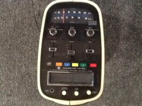 VINTAGE BROTHER AQUATRON VX-33 AM/FM RADIO 8 TRACK STEREO SPACE AGE EGG POD