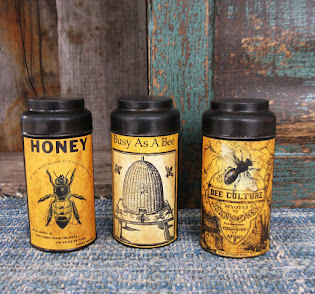 bee tins $15 each