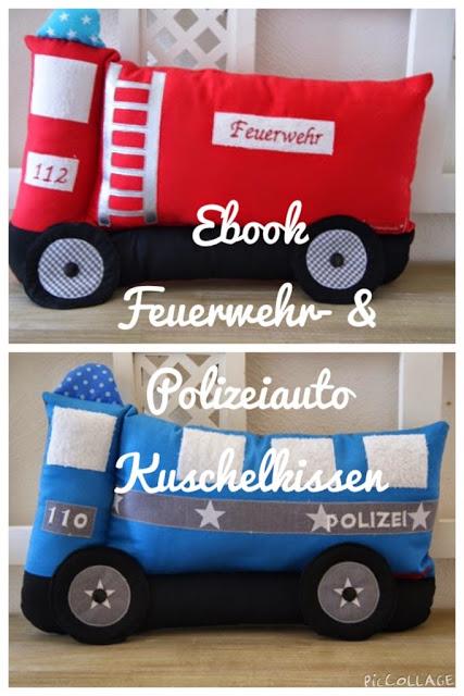 Feuerwehr- & Polizeiauto E-Book