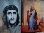Cuadros pintados por Kennig García  artista ecuatoriano residente en Málaga