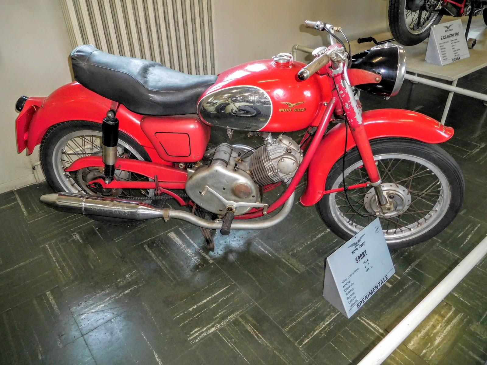 Tigho NYDucati: 1954 Moto Guzzi Sport