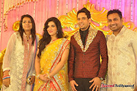 Celebraties at Actor Bharat n Jessy Wedding Reception Photos+%252850%2529 Actor Bharath n Jessy Wedding Photos
