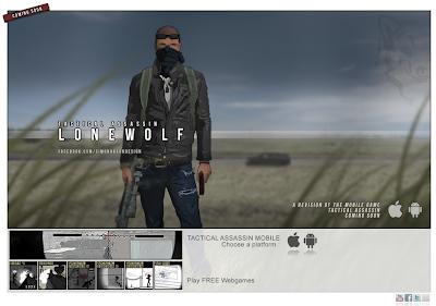 Web del desarrollador del juego Tactical Assassin