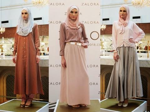 Ria Miranda for Zalora Muslim Spring 2015
