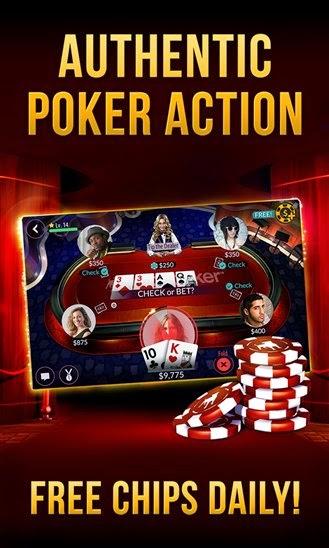 Zynga Poker lands on Windows Phone