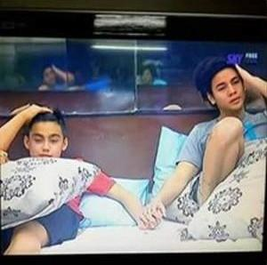 Pinoy Big Brother 737 Bromance Kenzo and Bailey