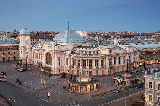 Estación de ferrocarril (Vitebsky Vokzal) de San Petersburgo
