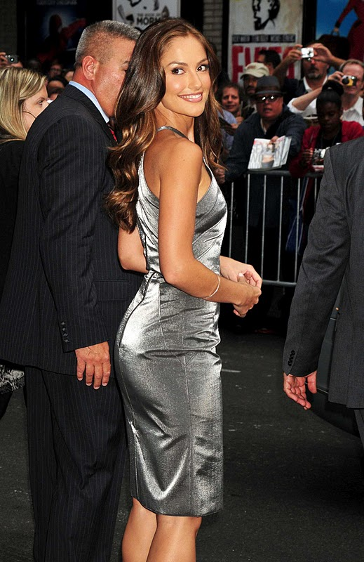 "Minka Kelly Visits ""The Late Show with David Letterman"" in New York"