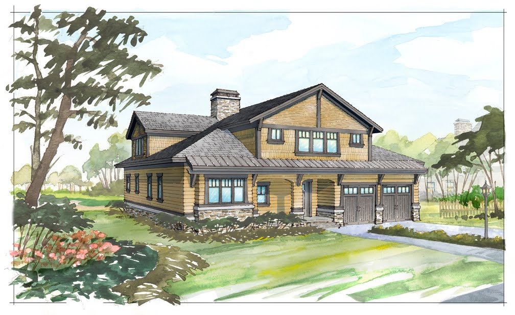 Architectural tutorial craftsman style visbeen architects for Craftsman style architects