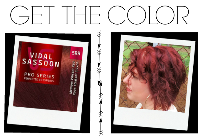 Vidal Sassoon Pro Series Red Hair Dye