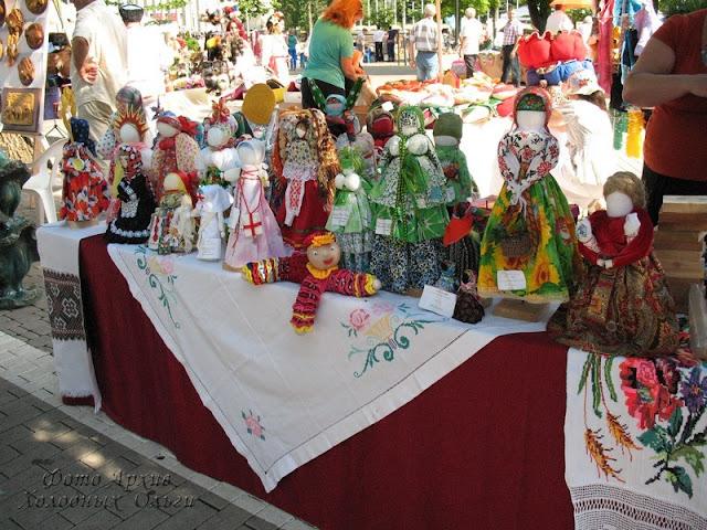 Тряпичные куклы 8