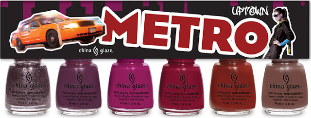 Giveaway: Win the entire China Glaze Uptown Collection!!!(end on 3rd october)