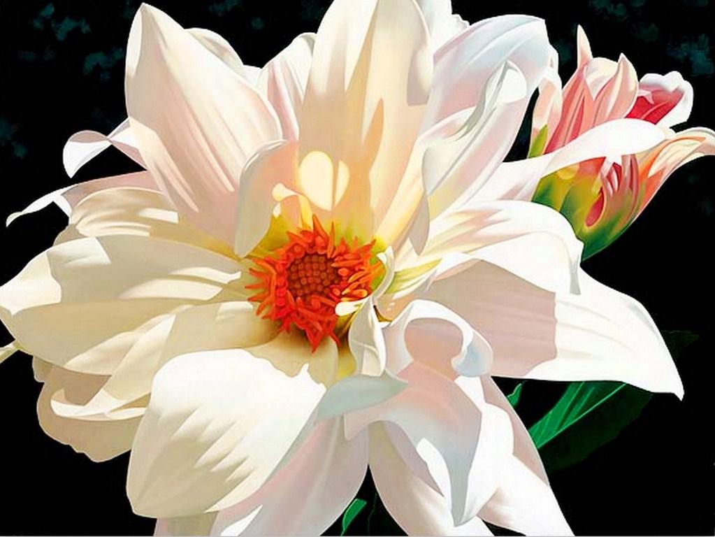 Cuadros pinturas oleos cuadros flores leo pintura - Cuadros de pintura ...