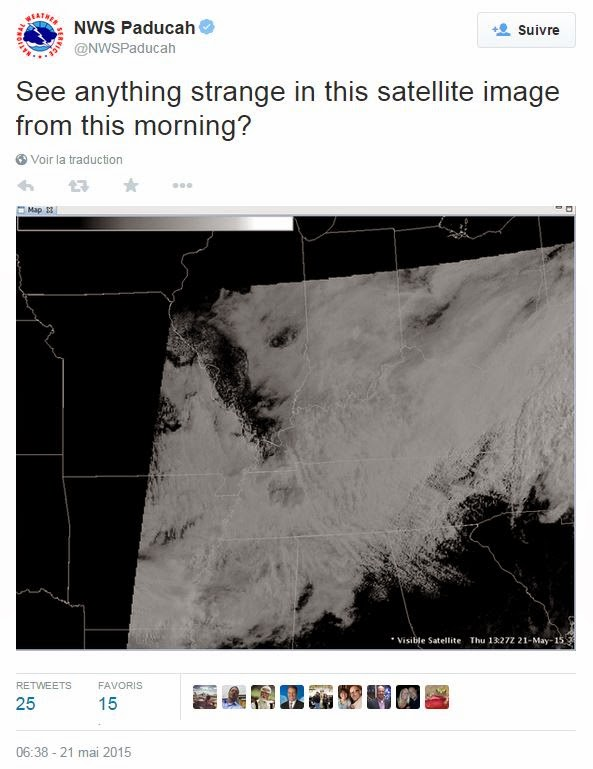 USA- Image Satellite Surprenante Capture