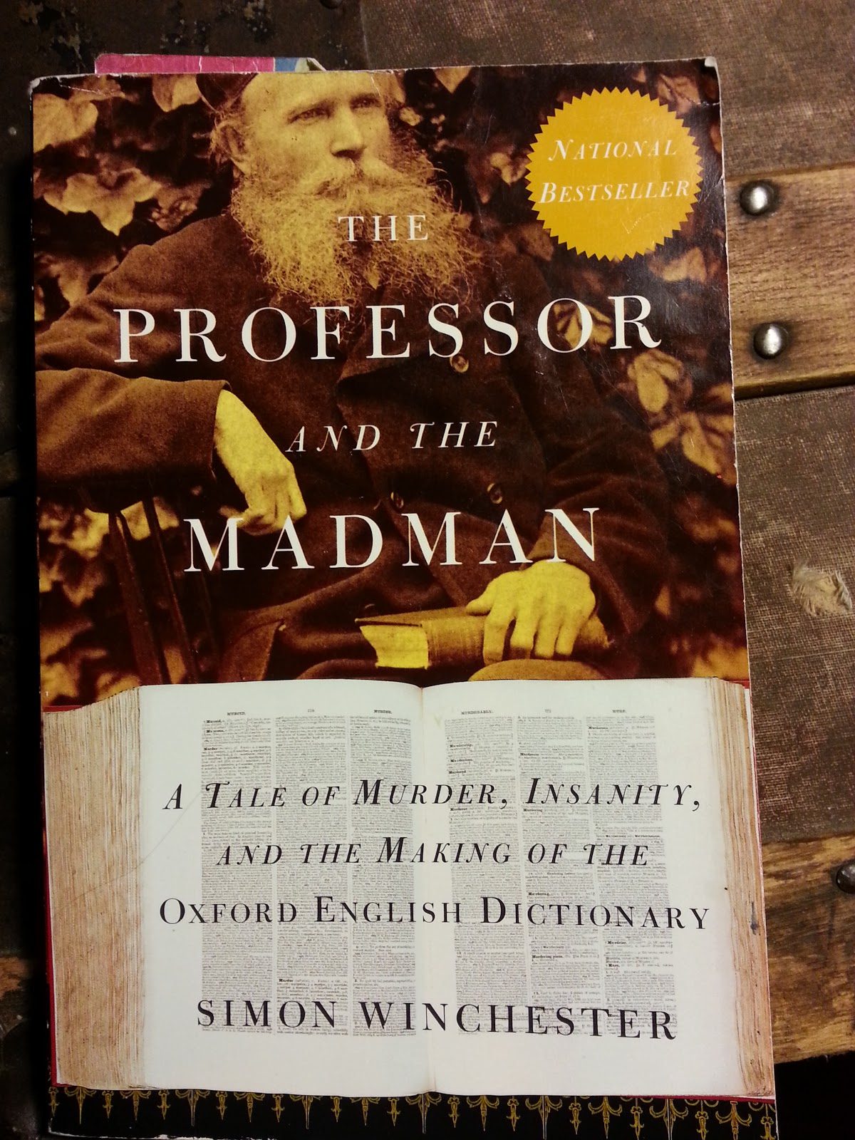 the professor and the madman a tale of murder insanity