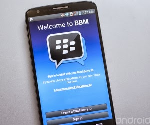 awaited finally arrived, yups, Blackberry Messenger (BBM) For Android