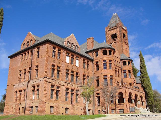exterior of Preston Castle in Ione, California