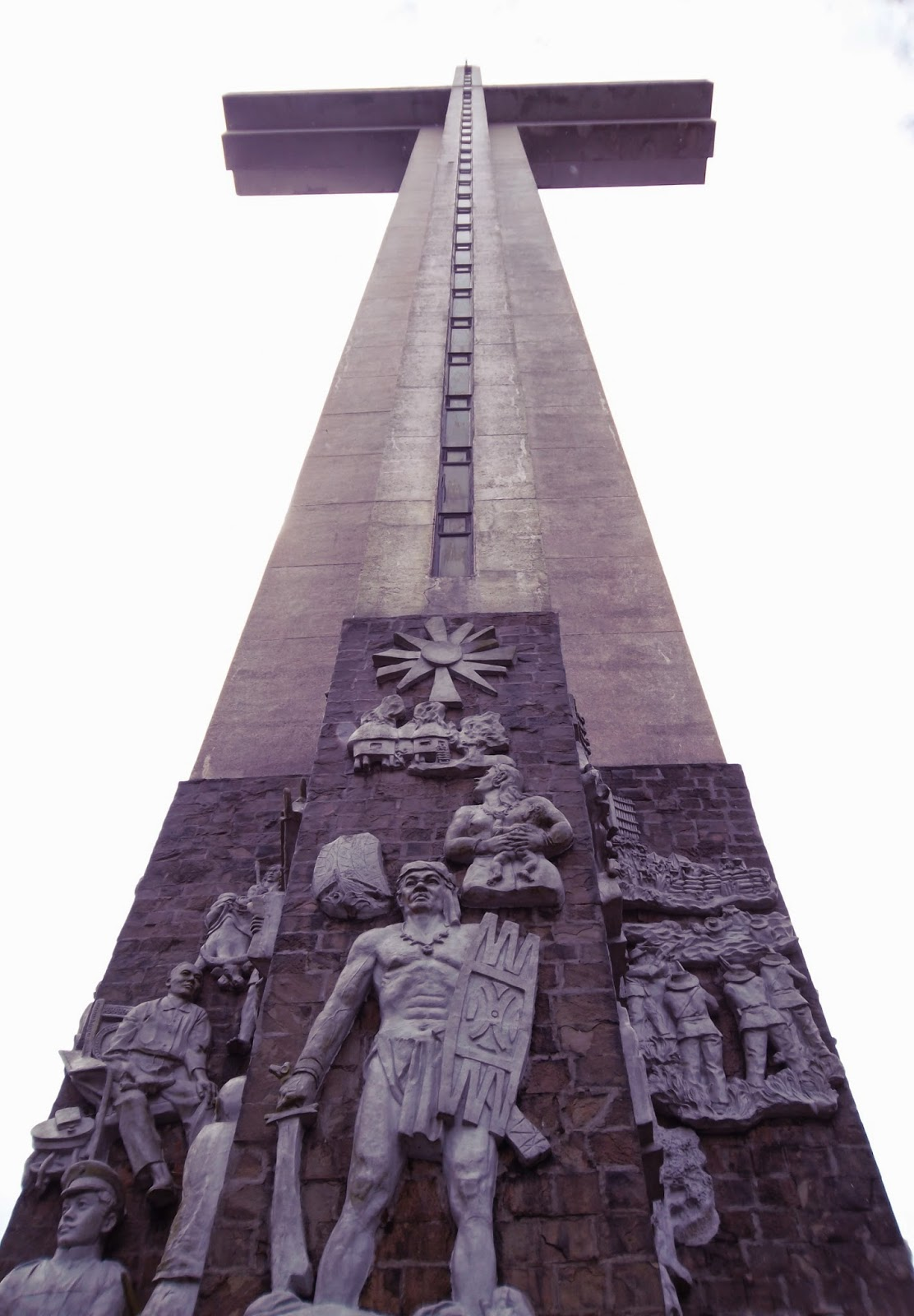 the Shrine of Valor, Mt. Samat