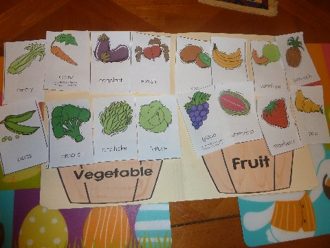 garden theme for preschool and i had the lil divas work independently on a fruit or 560