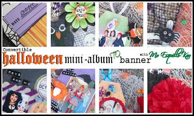 Online class, art studio, mini album,