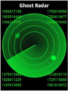 gambar hantu yang terdeteksi Ghost Radar