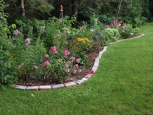 Cottage garden border designs pdf for Garden border design