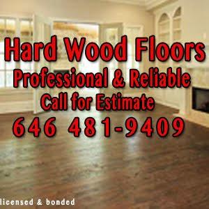HARDWOOD FLOORS PROFESSIONAL LICENSED BONDED NYC NJ CT