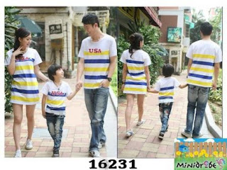 baju family korea