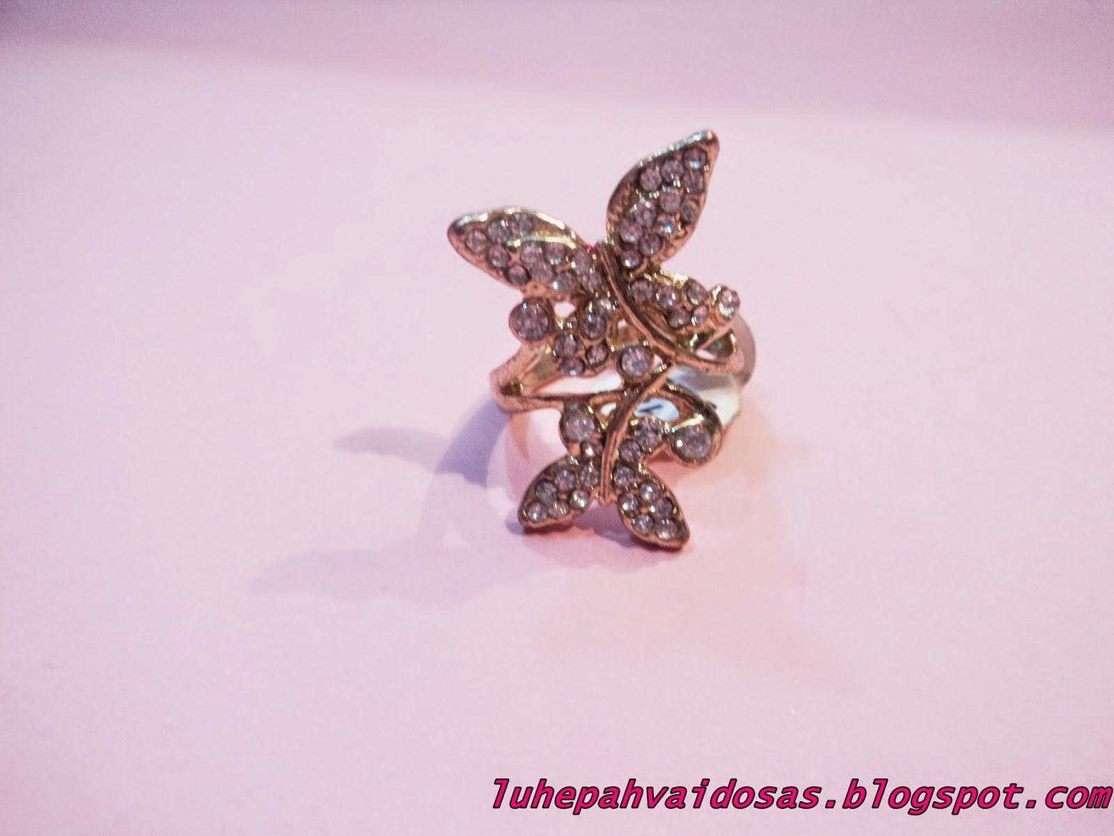 anel borboleta