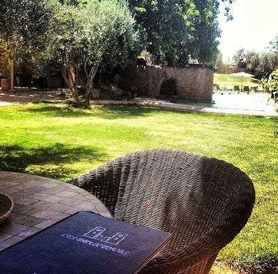 Livre d'or, guest book Hotel Les Deux Tours Marrakech