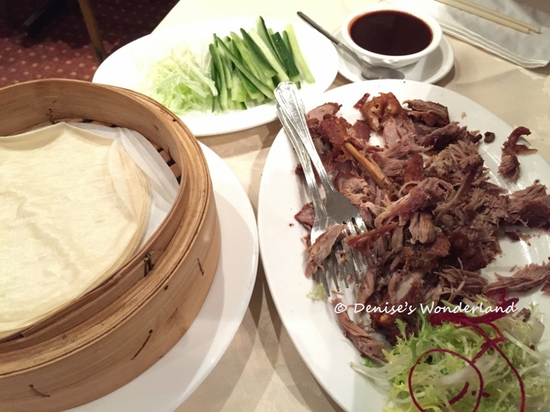 Crispy Duck at Four Seasons Chinese Restaurant, London