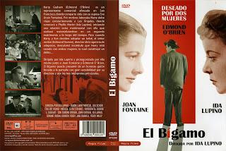Carátula: El bígamo 1956 (The bigamist)