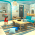 Candy Rooms Escape 12: Turquoise Blue Natural