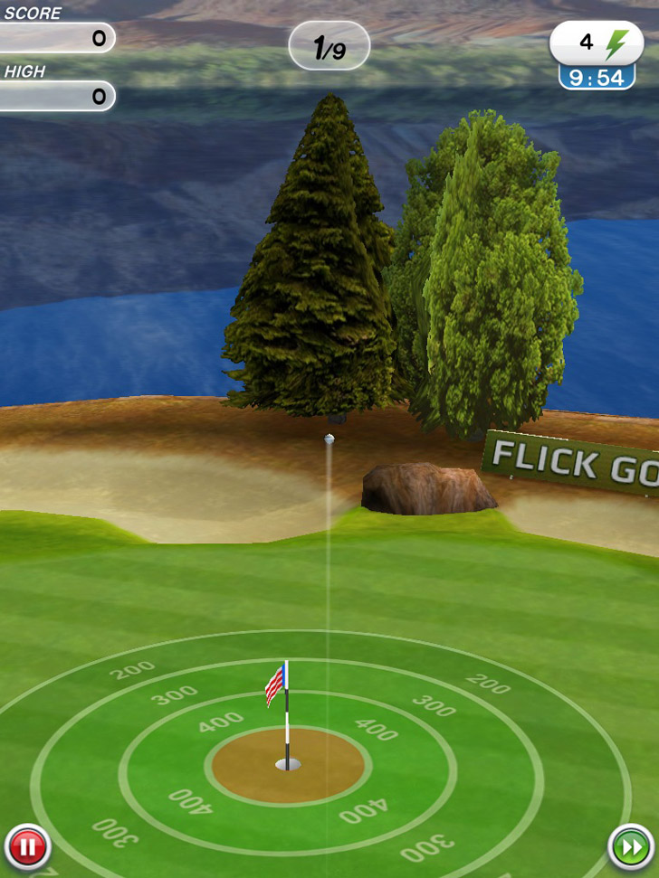 Flick Golf! Free App iTunes Google Play App By Full Fat - FreeApps.ws