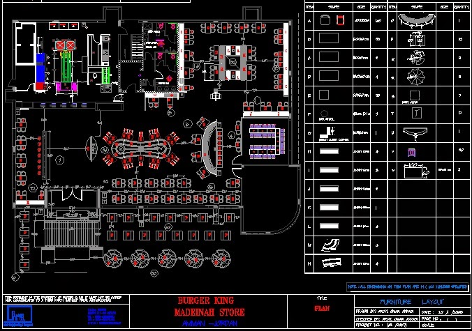 Kfc Restaurant Dwg Future Architect