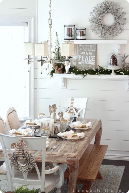 Woodsy Winter Wonderland - Christmas Decor 2012 on