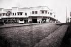 """O prédio """"Dr. Olavo Guimarães"""", o maior empreendimento inaugurado em 1946.,"""