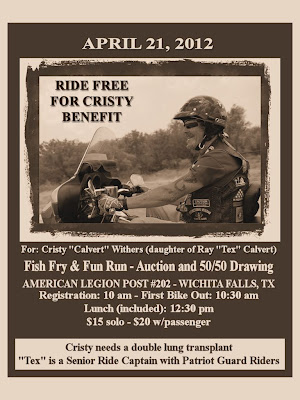 Cristy Benefit Flyer