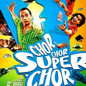 Poster Of Bollywood Movie Chor chor super chor (2013) 300MB Compressed Small Size Pc Movie Free Download worldfree4u.com