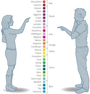 cum vad barbatii si femeile culorile