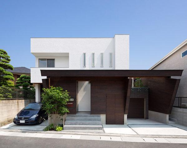 Hogares frescos arquitectura japonesa moderna casa u3 - Casas arquitectura moderna ...