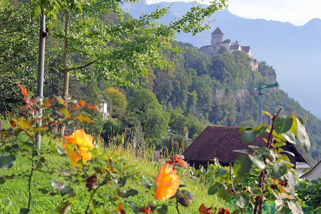 Zamek książęcy w Vaduz, Liechtenstein