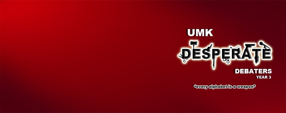 UMK.Desperate.Debaters (UDD)