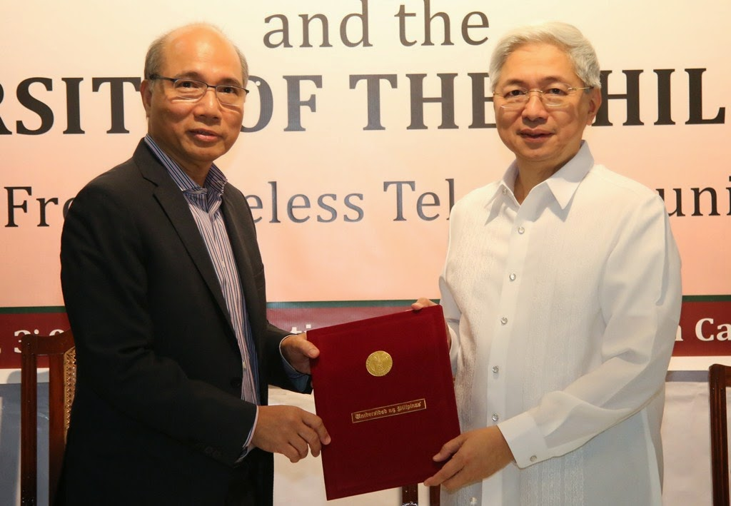 Smart inks deal to install hotspots in UP campuses nationwide