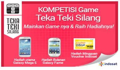 Indosat Gelar Kompetisi 'Games Teka Teki Silang
