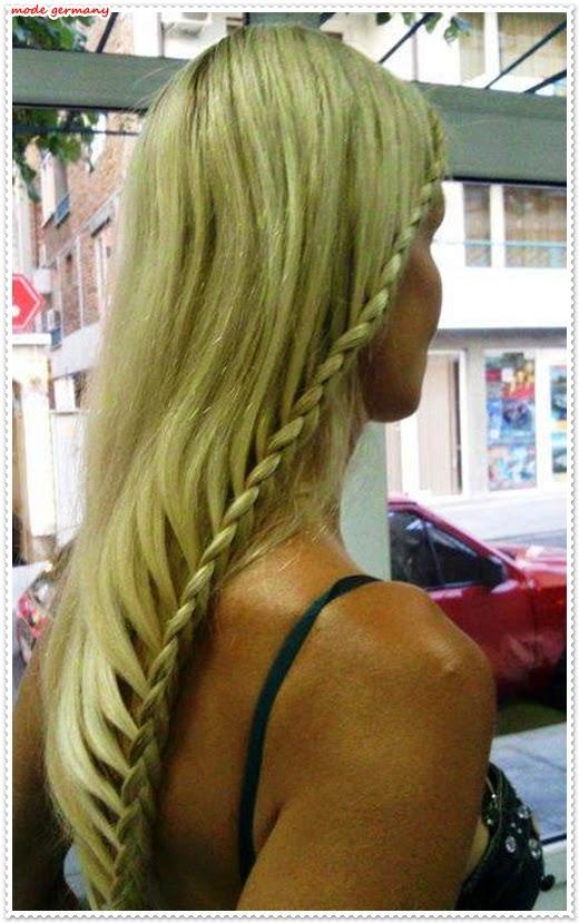 Romantische Frisuren für lange Haare