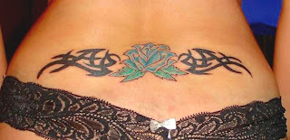 Lower Back Tattoos - Lower back tattoo ideas for girls